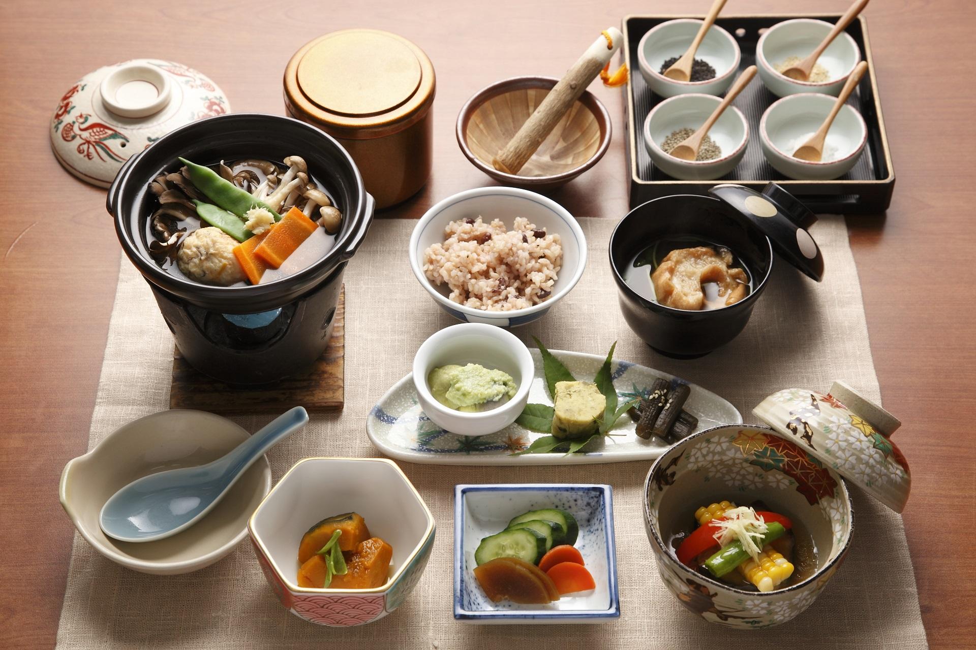 Ichijiru Sansai meals